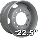 "22.5"" Heavy Duty Wheels"