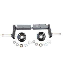 "935 lb. Torsion Half Axles with 4-4"" Bolt Circle Hubs"