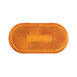Amber Surface Mount LED Marker/ Clearance Lights with Reflex