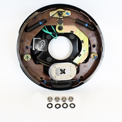 "10"" Electric Brake Right Hand Assembly"