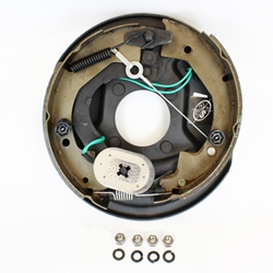 "10"" Self-Adjusting Electric Brake Left Hand Assembly"