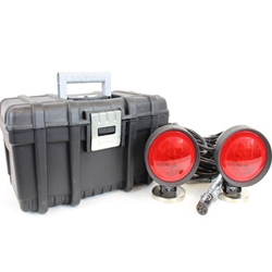 Heavy Duty Towing Lights with Carrying Case 6 Way Plug