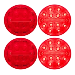 "HD500 ™  4"" Round Sealed LED Stop/Turn/Tail Light Pair"