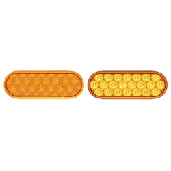 "6"" Oval Sealed LED Warning Lamp Function 2"