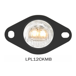 "3/4"" Sealed LED License Light w/Bracket"