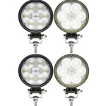 Opti-Brite ™  6-LED Round Work Light Pair