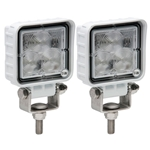 Opti-Brite ™  LED Work Light 3 Diodes White Housing Pair