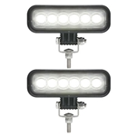 Opti-Brite ™  6-LED Rectangular Work Lights Pair